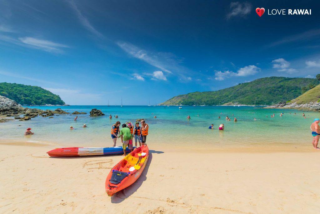 kayaks, phuket beaches