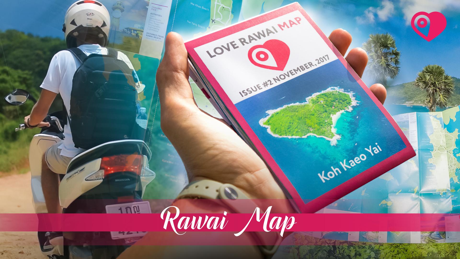 карта Rawai Map
