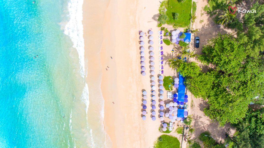 beach umbrellas in phuket