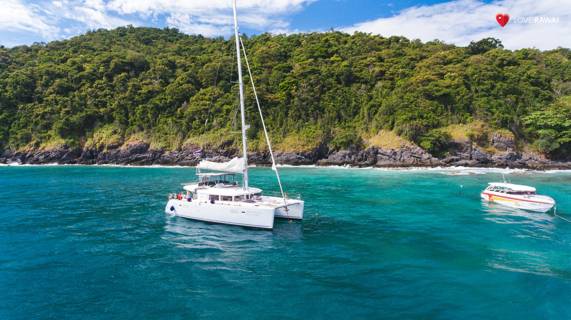 catamaran koh bon island trip