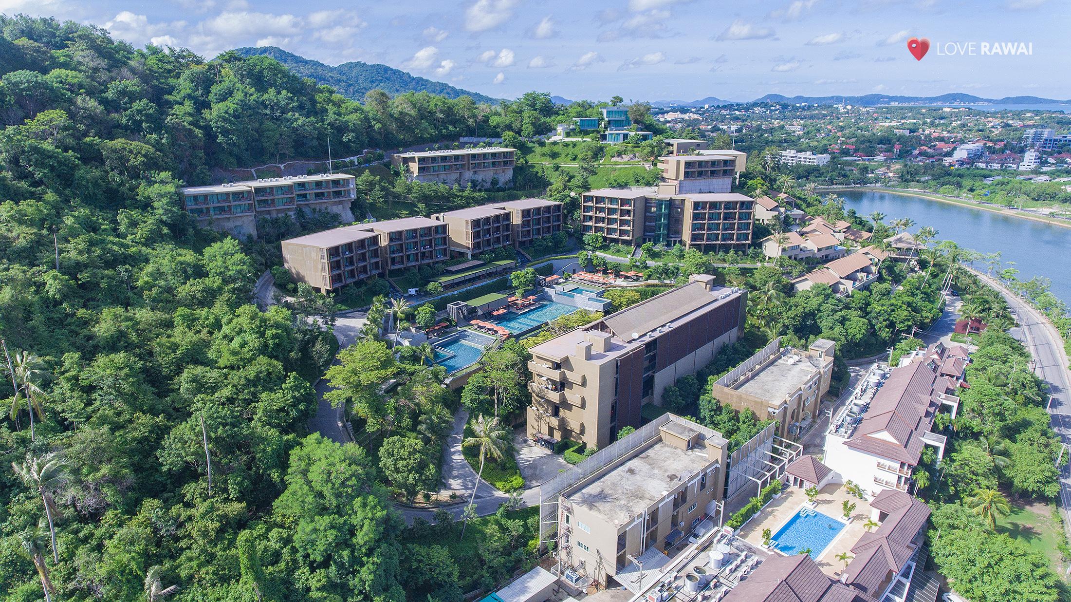 hotels at naiharn beach