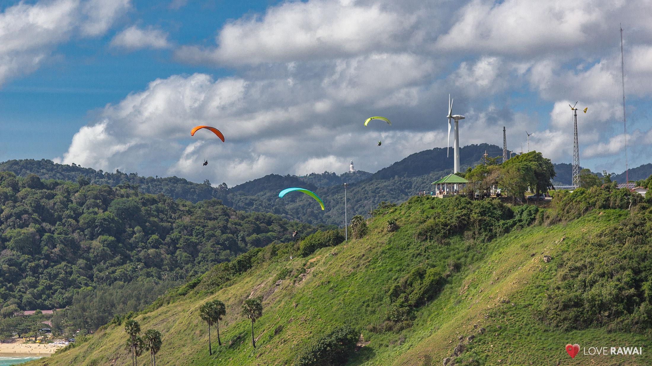 windmill paraglide