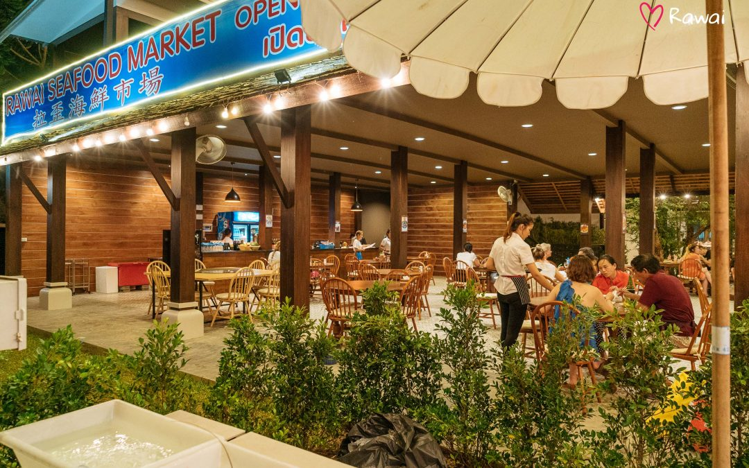 Rawai in Phuket – promenade and famous market