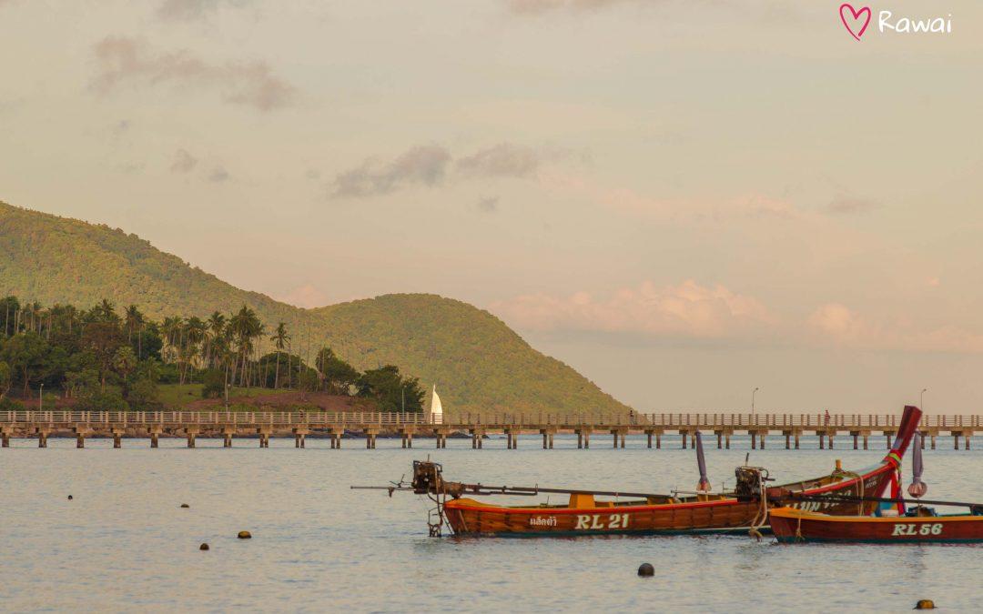 Набережная Раваи на юге Пхукета