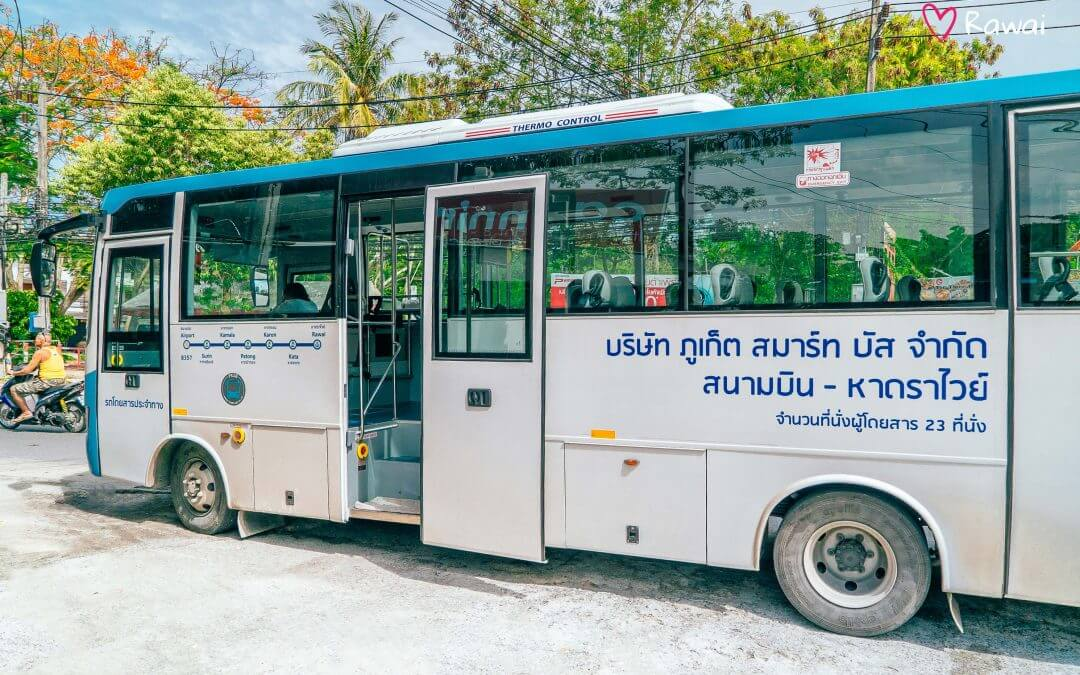 One more opportunity to get in Rawai, Phuket — Phuket Smart Bus