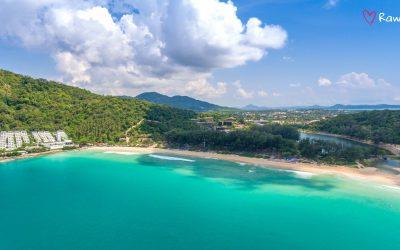 Nai Harn — the most famous beach in Rawai, Phuket